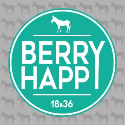 "Stickers Voiture ""Berry Happy"""