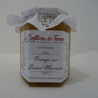 Confiture du Terrier Orange au Grand Marnier