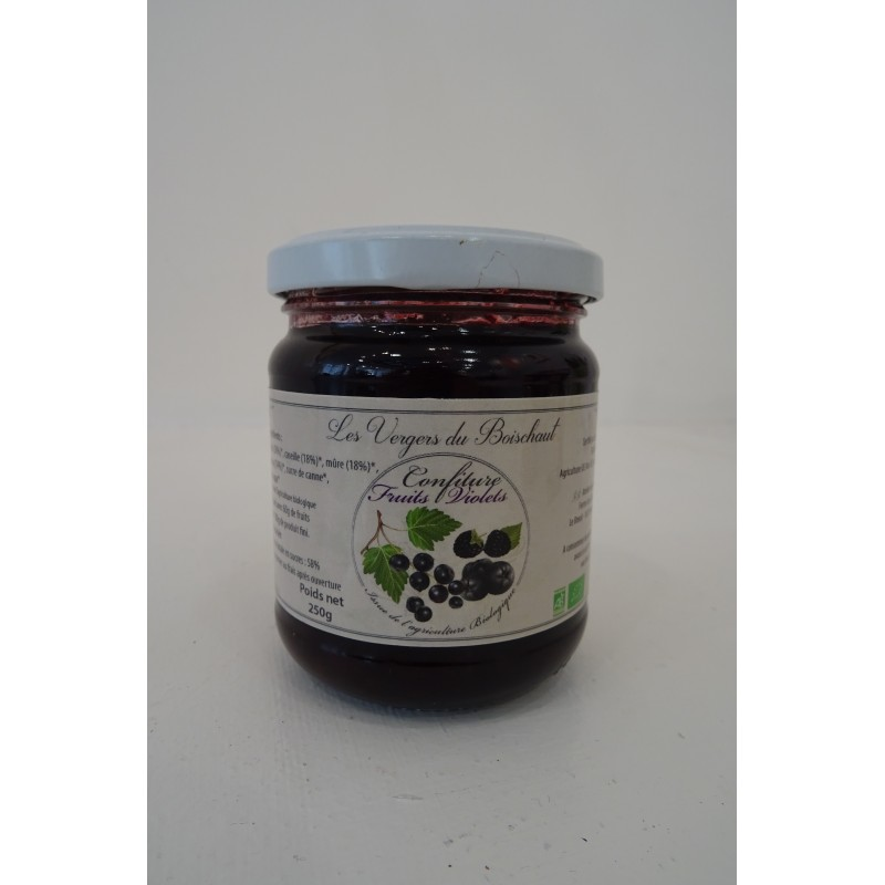Confiture de Fruits violets - Le Relais
