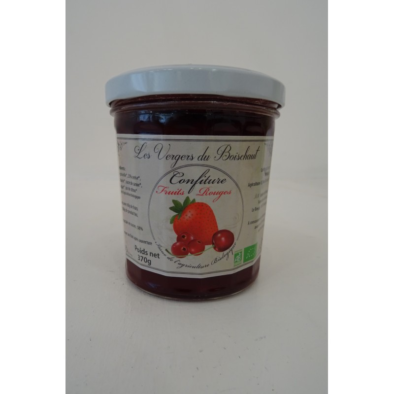 Confiture 3 fruits 370g
