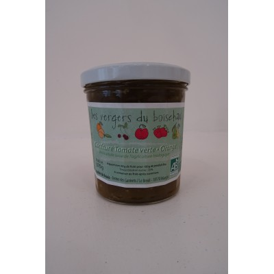 Confiture Tomates vertes et Orange - Le Relais