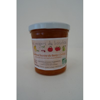 Confiture Sucrine du Berry et Orange - Le Relais