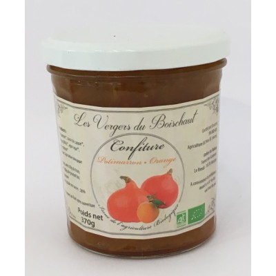 Confiture de Potimarron Orange - Le Relais
